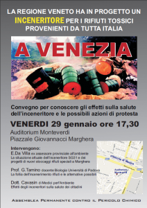 Conferenza Inceneritore a Marghera